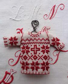 Steekjes & Kruisjes van Marijke: Mini trui en meer