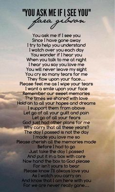 Miss you Dad Miss My Mom, I Miss You, Miss You Daddy, Citation Souvenir, Letter From Heaven, Grief Poems, Grieving Quotes, Funeral Poems, Missing You Quotes
