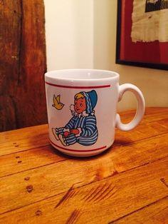 Vintage Mug Collectable ANDY PANDY Childs Nursery Cup 1951 #KINNERTON #VintageRetro