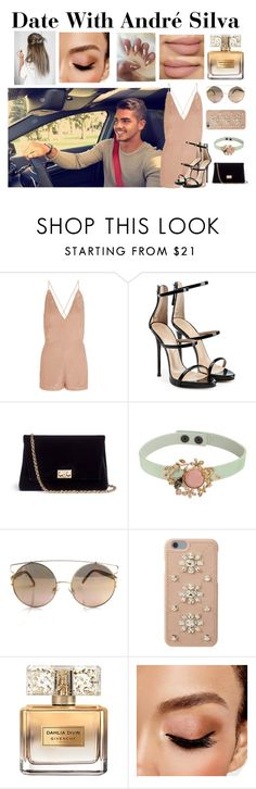 """""""Date With André Silva"""" by anokass6 ❤ liked on Polyvore featuring Valentino, Giuseppe Zanotti, Rodo, RED Valentino, MICHAEL Michael Kors, Givenchy and Avon"""