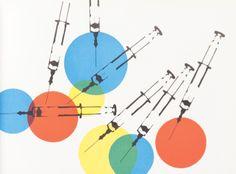 Franco Grignani, Copertine e pagine da Bellezza dItalia 1950-58
