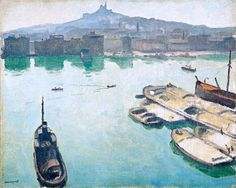 Port of Marseilles, 1916 / Albert Marquet