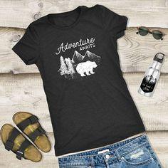 Womens Camping Shirt Adventure Shirts woman mountain shirt
