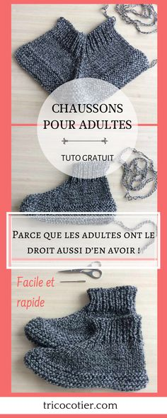 Because adults also have the right to have them! Crochet Dolls, Crochet Clothes, Crochet Hats, Knitting Patterns Free, Free Pattern, Knitted Slippers, Crochet Flowers, Doilies Crochet, Easy Crochet