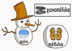 Ελένη Μαμανού: Σύνθετες λέξεις με το χιόνι