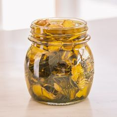 Rosemary and ginger infused oil - to stimulate circulation and relieve pain
