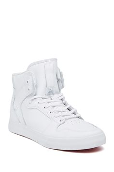 super popular f376f 35a33 Vaider Hi Top Sneaker Nike Hi Tops, Leather, Outfits, Casual Boots, Style
