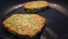 Courgette-kaasburgers