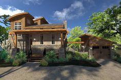 House Plan 75140 | Cottage   Craftsman   Modern    Plan with 985 Sq. Ft., 2 Bedrooms, 2 Bathrooms, 1 Car Garage