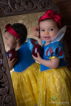 Baby Snow White. I love this costume for Emmie!