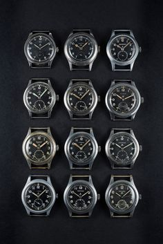 In-Depth: The 'Dirty Dozen,' An Incredible Collection Of 12 (Mostly) Inexpensive Military Watches