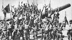 May 6, 1942: Less than a month after the infamous Bataan Death March, an estimated 16,000 U.S. and Filipino forces under Lt. General Wainwright surrender to invading Japanese troops on Corregidor.