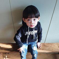 Instagram media by jhanuul - 사오정 한울   #fashion #boy #kid