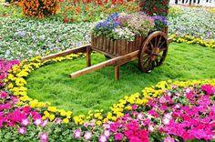 NapadyNavody.sk | 15 atraktívnych dekoračných nápadov, ktoré môžete použit vo vašej záhrade