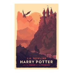 Harry Potter fans best clear some serious wall space, because this gorgeous series of officially-licensed giclée art prints—created by acclaimed artist Olly Moss in collaboration with Pottermore—are a must-have.