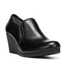 LifeStride Never Women's Wedge Ankle Boots, Size: medium (9), Black