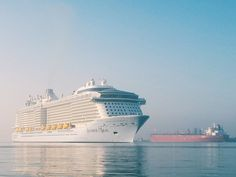 The newest addition to the Royal family. Welcome, Anthem of the Seas.