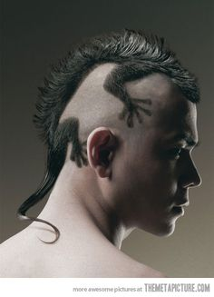 A haircut like no other…