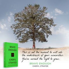 Get Inspired! Cheryl Strayed, best-selling author of WILD, shares more than 100 of her indelible quotes in her new book, BRAVE ENOUGH. The perfect gift for the dreamer on your list.