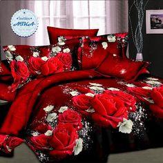 Venda quente 3d conjuntos de cama 4 pcs duvet cover set rainha rei gêmeo lençóis…