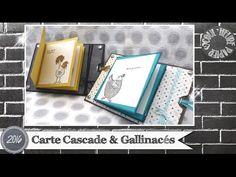 "Vidéo-Tuto ""Carte Cascade & Gallinacés"" par Coul'Heure Papier - YouTube"