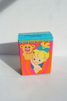 AVON MONKEY SHINES Box, Vintage soap Box, puppet sponge and soap, vintage children's soap, Avon Children soap, vintage paper ephemera by TheJellyJar on Etsy