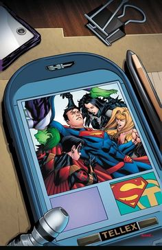 #Superman #Fan #Art. (Superman Vol.3 #35 Variant Cover) By: Mike McKone. ÅWESOMENESS!!!™ ÅÅÅ+