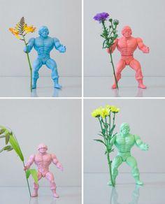 Hooray for Sorbet!   And sweet little HeMans!  via RenaTom.net