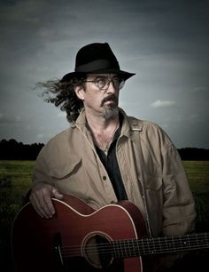 Photo Credit:  Dan Winters. James McMurtry with the Guild GF-30 he's played for years