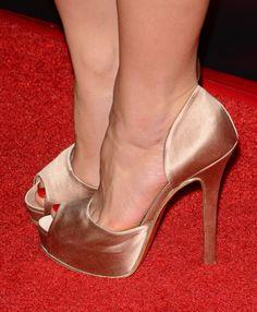 Juno Temple's High Heels ...XoXo