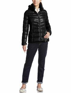 Amazon.co.jp: (ジョルダーノ)GIORDANO Wライトウェイトダウンミドル丈スリムフーデッドジャケット: 服&ファッション小物
