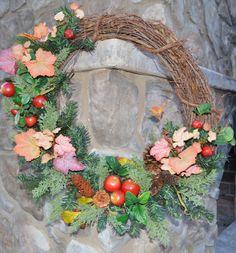 Fall Wreath Winter Wreath Harvest Wreath by TheBloomingWreath, $69.99