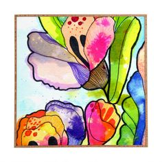 CayenaBlanca Queen Flower Framed Wall Art | DENY Designs Home Accessories