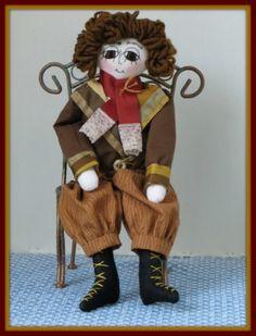 Peter - Doll Street Dreamers -Victorian Boy E-Pattern by Linda Walsh