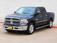 2015 Ram 1500 Lone Star Crew Cab Eco Diesel in Maximum Steel Metallic. The popular Ram 1500 Lone Star with the class leading 3.0L EcoDiesel V6 engine with an 8-speed automatic transmission. This powertrain configuration can get up to 25 MPG on the highway. #Ram1500 #Diesel