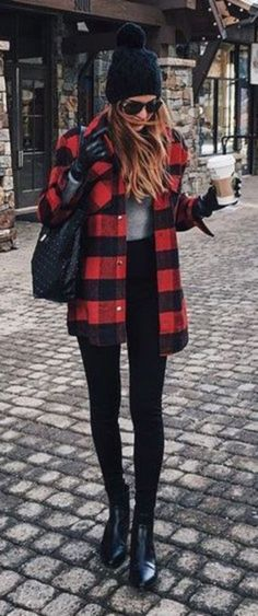 Trending winter outfits to copy right now 64