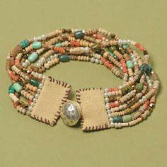 Free Beaded Cuff Bracelet Project Tutorial | Gypsy | Beadshop.com