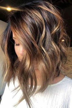 35 Balayage Hair Color Ideas for Brunettes in 2019 35 Balayage Hair Color Ideas for Brunettes in The French hair coloring technique: Balayage. These 35 balayage hair color ideas for brunettes in 2019 allow to achieve a more natural and modern eff…, Inverted Bob Hairstyles, Long Face Hairstyles, Layered Hairstyles, Hairstyles 2018, 2018 Haircuts, Bob Hairstyles Brunette, Bob Haircut 2018, Brunette Haircut, Brown Hairstyles