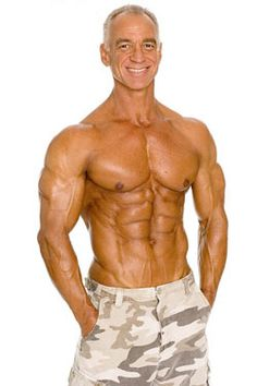 Dave Goodin ... amazing body for 52 yrs old. Dedication and hard work.