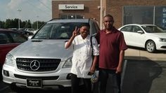 Ernst and Marie congratulations on your new Mercedes ML350! Very nice. I am glad we connected through the internet. Enjoy:)  Jay Grosman WWW.TalkingCarsWithJay.com  Bommarito St.Peters