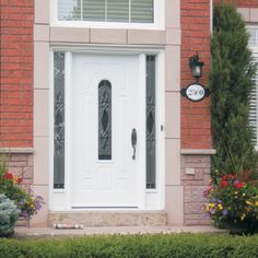 French doors, garage doors, sliding patio doors, steel insulated doors, and more. Sliding Patio Doors, Garage Doors, Door Insulation, Door Ideas, French Doors, Gallery, Building, Outdoor Decor, Home Decor