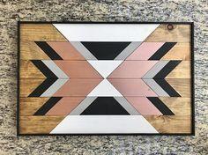Wood Wall Art Southwestern Decor Modern Wood Art Boho