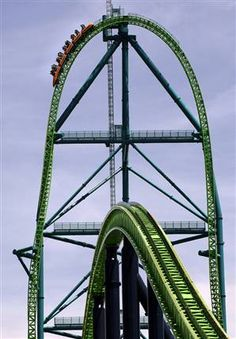 this is my favorite amusement park. it has many fun rides including my favorite kinda ka