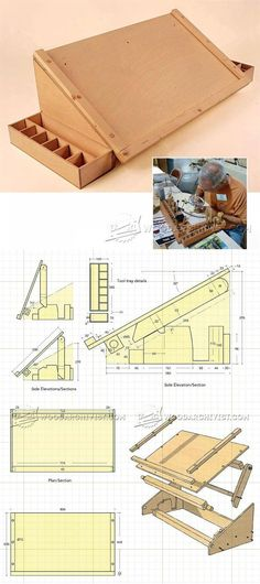 Carving Station Plans - Wood Carving Patterns and Techniques | WoodArchivist.com