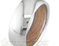 Heart of Wood Titanium Ring