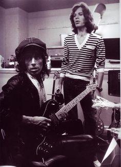 Mick and Keith.