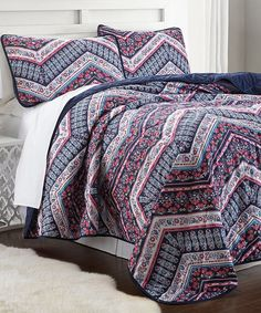 Take a look at this Mallorca Quilted Coverlet Set today!