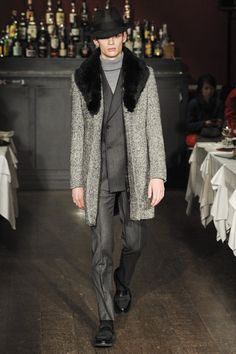 Moschino Fall 2013 Menswear Collection Slideshow on Style.com