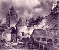 Tallinn,1840, Nunne gate
