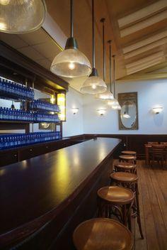 Gezellig een drankje drinken in de Hopperbar